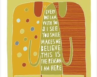 The Reason I Am Here - Fine Art Print
