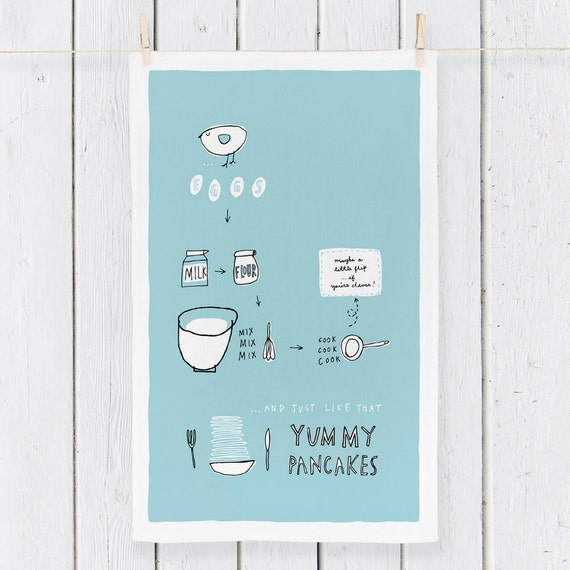 YUMMY PANCAKES - Tea Towel (TT6)