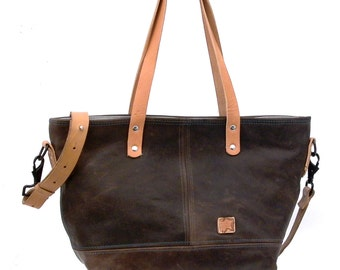 Leather Jacket Recycled Handbag // Upcycled and Handmade by peace4youBAGS - Model mimi-2158
