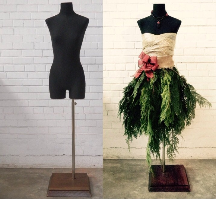 Tutorial diy easy dress form christmas tree by mannequinmadness