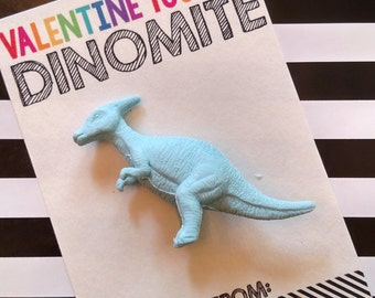 INSTANT DOWNLOAD Printable Dinomite Dinosaur Valentines for Valentines Day