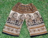 Hippie Kids pants -size 2 -Brown Black -Boys or Girls- Read measurements