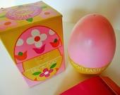 Two Vintage Avon Easter Dec A Doo Bubble Bath,  Good Habit Rabbit Scrub Brush & Soap
