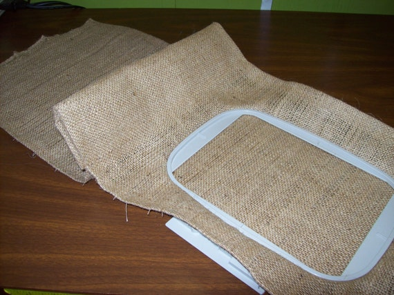 3 Wholesale Handmade Blank Garden Flags Burlap From