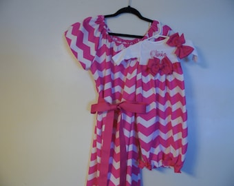 Beuatiful Mommie and matching infant gown perfect for pictures and perfect for bring home outfit