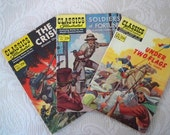 Vintage Collectible Comic Book Classics Illustrated 1960-70 History