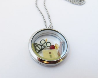 You're a Wizard Floating Locket