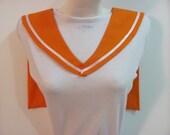 Orange Collar Sailor Scout Venus Cosplay Costume