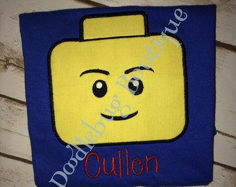 Lego shirt with name