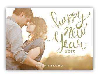 Custom Holiday Photo Card - New Years