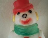 SALE Vintage Christmas Snowman Indoors Light up