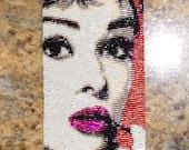Audrey Hepburn Beadwoven Cuff