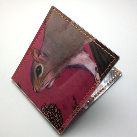 He's a squirrely boy wallet - Shannon McLaughlin for Tinymeat
