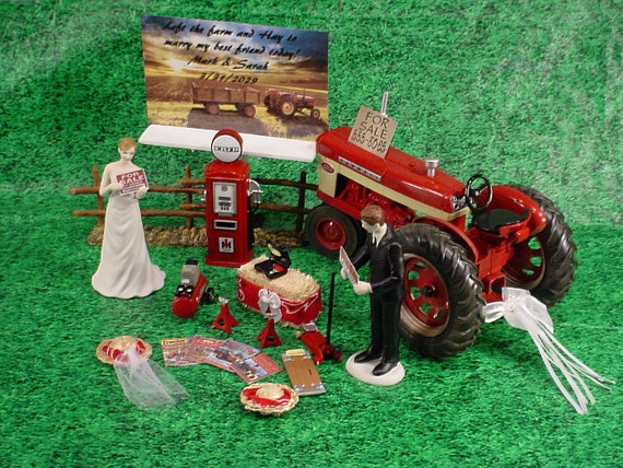 international tractor wedding cake topper international harvester tractor country by 16467