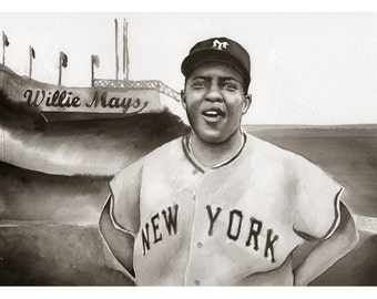 Willie Mays 11x14 Print