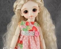 """Fatiao - New Dolls Wig Dollfie Yo-SD 1/6 BJD 6-7"""" size Blonde"""