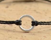 Good Karma  bracelet-sterling silver
