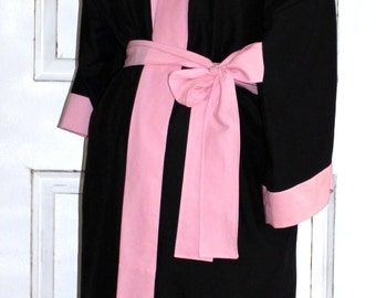 Maternity Hospital Nursing Robe - Coordinate as a Delivery Robe with your Hospital Gown - Great for Hospital and Recovery