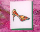 Shoe Obsession Note Card