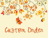 Custom Listing for Cecile