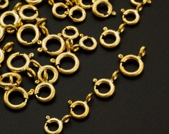 4 - 14kt Gold Filled Spring Clasps - Best Commercially Made - 100% Guarantee
