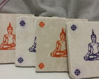Buddah Coasters (set of 4)