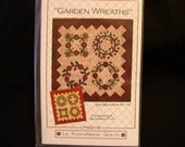 Garden Wreaths Quilt Pattern - New - Never Used