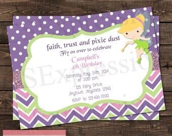 Fairy Princess Birthday Party Invitation