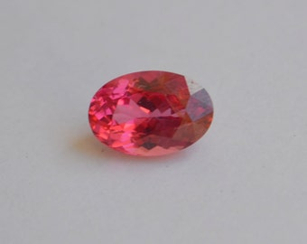 Neon Pink Mahenge Spinel Oval 11.3 x 7.6mm