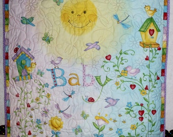 You Are My Sunshine Quilt Crib/Lap/Wall