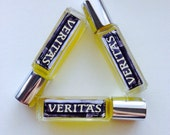 VERITAS handcrafted perfume oil - 8mL glass bottle