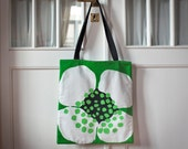 Tote bag made with Tampella fabric