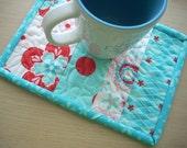 Sugar and Spice mug rug - FREE SHIPPING