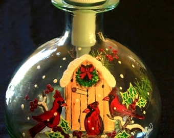 Round Soap Dispenser-3 Cardinals-Item 791