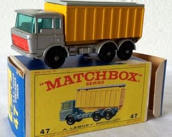 Vintage Matchbox Lesney DAF Tipper Truck #47