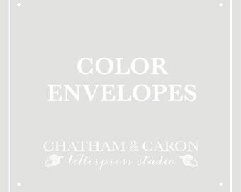ADD ON: Color Envelopes