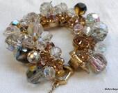 Juliana Topaz Rhinestones Bracelet Crystal Beads