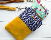 no 675 Jamie Phone & Wallet Pouch PDF Sewing Pattern - Instant download