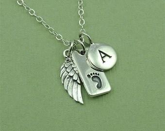 Baby Foot Jewelry - new baby necklace, newborn jewelry