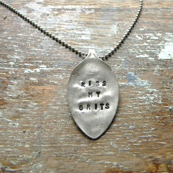 how to make stamped spoon jewelry