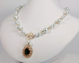 Serenity - Tudor Renaissance Medieval Game of Thrones Costume Jewelry Necklace