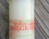 Sugar Shaker candle in Mediterranean Pomegranate scent