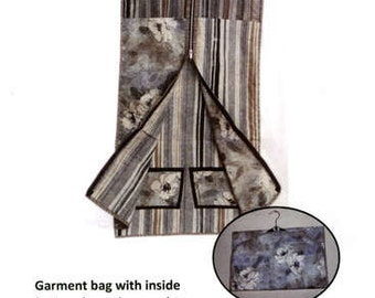 Quilt Pattern/Garment Bag/Quick Change/Garment Bag/Sisters Common Thread/Sewing/Quilting/Yvonne Cabella/Garment Pattern