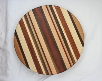 16 inch Lazy Susan - Handmade with hardwoods