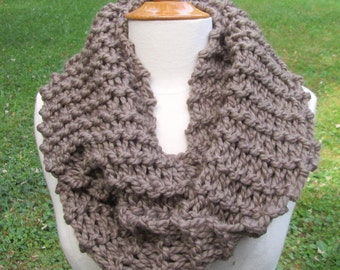 OUTLANDER inspired Scarf Claire Mocha
