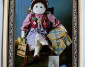 "Amity Publications 016 ""My Friend Phyllis"" Quilter's Companion Doll Pattern Plus Companion Book UNCUT"