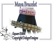 Maya Bracelet - Tila Beading Pattern Tutorial