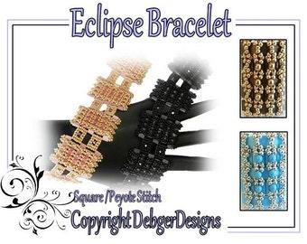 Eclipse Bracelet - Tila Beading Pattern Tutorial