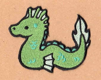 Too Cute Sea Serpent Patch