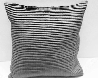 pleated light grey cushion decorative cushion modern pillow home decor bed pillow sofa pillow sewing pattern bedroom decor silk cushion